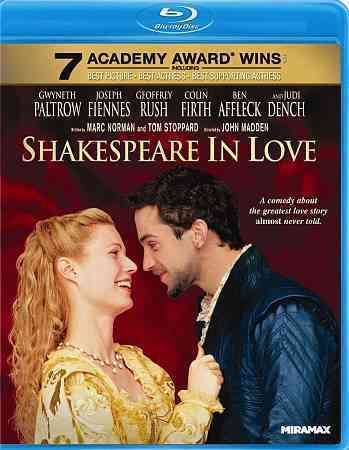 SHAKESPEARE IN LOVE BY RUSH,GEOFFREY (Blu-Ray)